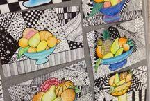 Cezanne/Matisse children's art
