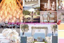 Design boards- Ideas / Algarve weddings by Rebecca.
