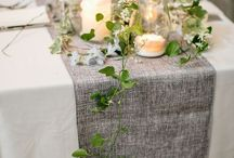 Green & nature decor 40th hunter birthday