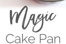Magic cake pan release
