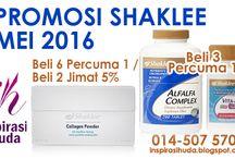 Promosi Shaklee Mei 2016