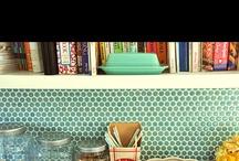 Kitchen Remodel Ideas / Backsplash Tile for Kitchen / by Connie Mettler