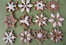 Csillagok karácsonyra mézeskalácsból