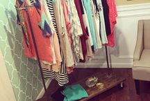 diy clothes/garmet racks