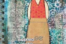 Art Journal Inspiration / Inspiration for Art Journals