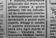 Italian Tremes / La deriva del senno in un collage di parole scritte, stampate, incise.