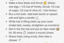spa day/pielęgnacja