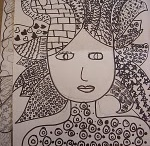 Doodles / Doodling, drawing, and being creative with a pen. / by Carolyn Dube