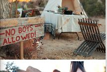 Camping Birthday Party Ideas / by Kara's Party Ideas .com