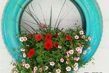 ozdoby rosliny ogrod tarad