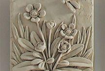 αναγλυφα  λουλουδια