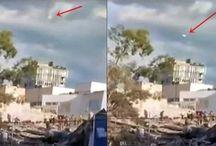 Ufologia:Terremoto in Messico: un UFO compare sopra Città del Messico dopo il sisma e in diretta TV.