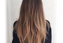 Suorat hiukset