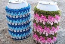 crocheted coozies