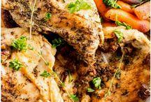 Herbed Chicken & Vegetables Recipe