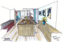 Interieur 3D tekeningen
