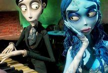 Tim Burton &Johnny Deep