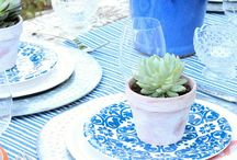 Entertaining At Home / Tips and tricks for entertaining at home - dining, table settings, decor and more