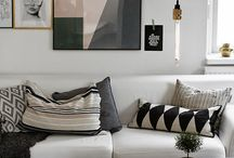 Black and white living rooms / Black and white living rooms