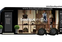 Boutique in a bus / Revolutionary mobile boutique - taking fashion to the streets