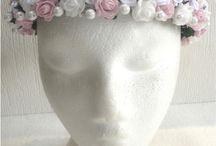 BRIDESMAID & FLOWER GIRL HEADDRESS