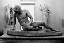Hellenistic sculptures