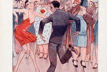 Dances of the 20s / The Charleston, Black Bottom, Fox Trot, Shimmy. Whatever was popular!