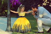 Daddy and Daughter / The beautiful relationship between father and daughter.