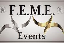 F.E.M.E.-Events / Marketing und Vertrieb sind Zwillinge, zwei Seiten derselben Medaille. Wir stimmen die Ziele Ihrer Veranstaltung sorgfältig mit Ihrer Verkaufsabteilung ab. Welche Verkaufsgebiete sollen angesprochen werden? Regional, überregional, national, international?  Wir konzentrieren uns auf Ihre Alleinstellungsmerkmale und sprechen gezielt Ihre Zielgruppe an.  Unser Konzept für Ihren Erfolg! GEMEINSAM STARK  F.E.M.E. - F.ür  E.uch  M.it  E.uch www.feme-events.de