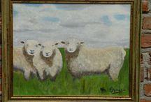 schilderijen / olieverfschilderijen