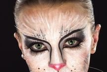 Fantastic and special effects make up / Make up