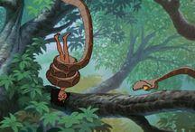 Mowgli och ormen Kaa