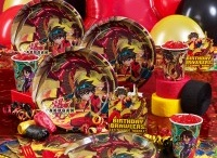 Bakugan / Bakugon themed birthday party ideas & cakes