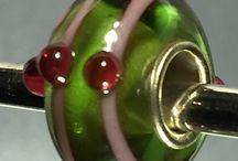 Glass beads - korálky