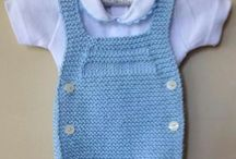 Punto o crochet bebe