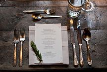 Fun & Beautiful Place Settings / Place setting we found online or on Pinterest. Inspiration for us and you!