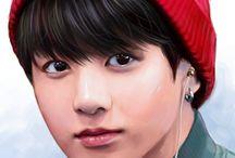 BTS | Jungkook | Чон Чонгук | Гуки / Нагибатор всея Бантан и не только, Золотой макнэ, кролик