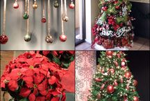 """Christmas Pinterest Party Decor / Every party needs decor. The """"treasures"""" created for our Christmas Party"""