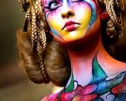Make-up: Bodypaint/Airbrush