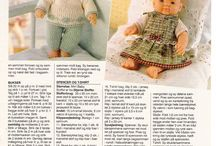 Baby born knitting