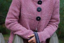 Sweater. Purple / Cardigan