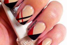 "Nail art ""burberry"""