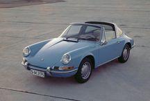 Old Porsches