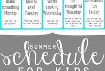 kids schedules