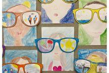 Glasögonansikte/sommarminnen