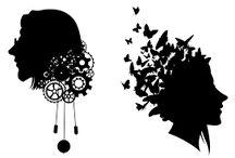 Silhouettes & Stencils / #stencils #silhouettes #blackandwhite #colour #vector #print
