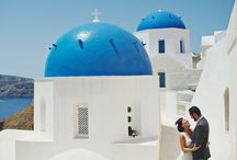 Japanese wedding in Santorini