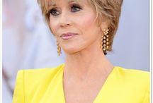Jane Fonda short style