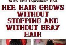 rice hair wash long hair