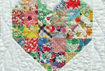 Quilting ideas / Hearts